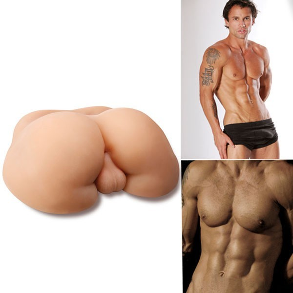 Full Silicone Sex Doll Male Ass For Gay Men with Sexy Ass Egg
